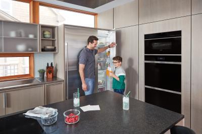 "18"" SUBZERO Integrated Column Freezer with Ice Maker - Panel Ready - IC-18FI-RH"