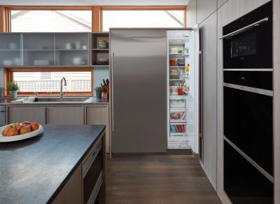 "18"" SUBZERO Integrated Column Freezer with Ice Maker - Panel Ready - IC-18FI-LH"