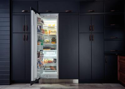 "24"" SUBZERO Integrated Column Freezer with Ice Maker - Panel Ready - IC-24FI-RH"