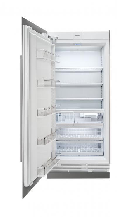 "36"" SUBZERO Integrated Column Freezer with Ice Maker - Panel Ready - IC-36FI-RH"
