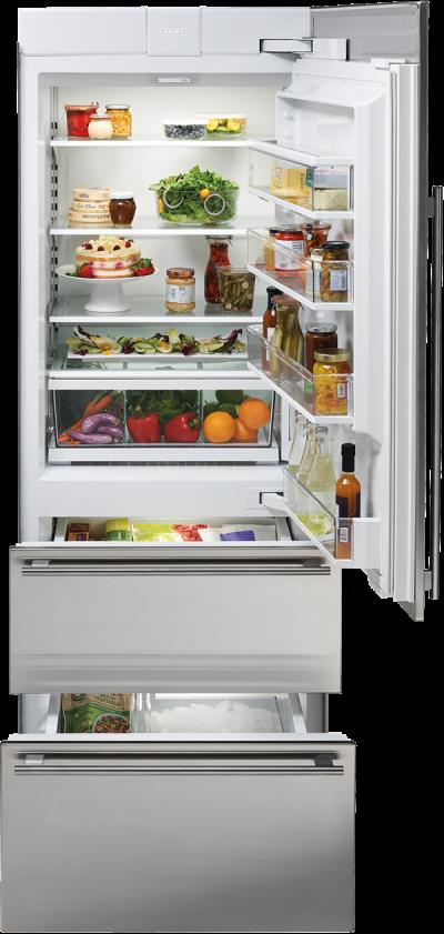 "30"" SUBZERO  Integrated Over-and-Under Refrigerator/Freezer - Panel Ready - IT-30CI-RH"