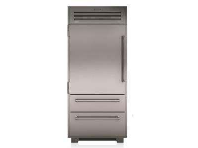 "36"" SUBZERO PRO Built-In Bottom Freezer Refrigerator - PRO3650-LH"