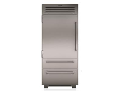 "36"" SUBZERO Built-In Bottom Freezer Refrigerator - PRO3650-RH"