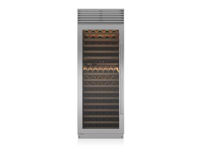 "30"" SUBZERO Built-In Column Wine Storage - BW-30/S/TH-RH"