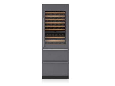 "30"" SUBZERO Integrated Wine Storage with Refrigerator/Freezer Drawers - Panel Ready -IW-30CI-RH"