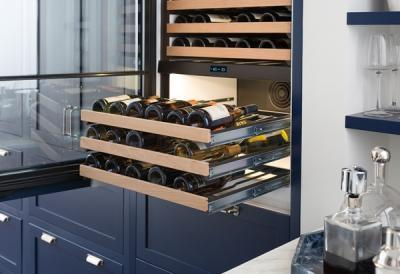 "30"" SUBZERO Integrated Wine Storage with Refrigerator/Freezer Drawers - Panel Ready -IW-30CI-RH"