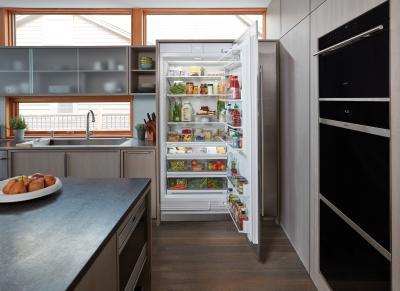 "36"" SUBZERO Integrated Column Refrigerator - Panel Ready - IC-36R-LH"