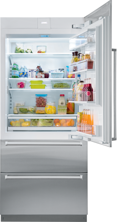 """36"""" SUBZERO  Integrated Over-and-Under Refrigerator - Panel Ready - IT-36R-LH"""