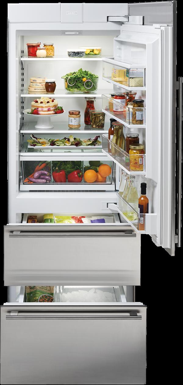 Subzero It 30ciid Lh 30 Subzero Integrated Over And Under Refrigerat