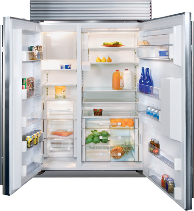 "48"" SUBZERO Built-In Side-by-Side Refrigerator/Freezer with Dispenser - BI-48SD/S/PH"