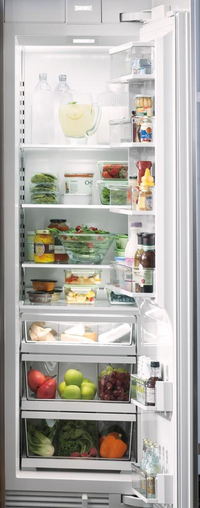 "24"" SUBZERO Integrated Column Refrigerator - Panel Ready - IC-24R-RH"
