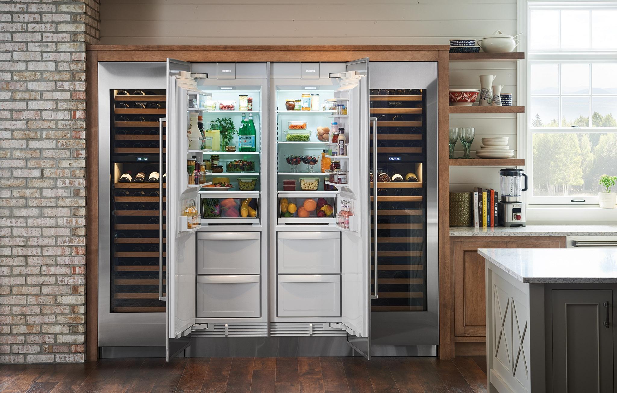 Subzero Ic 24ci Lh 24 Subzero Integrated Column Refrigerator Freezer