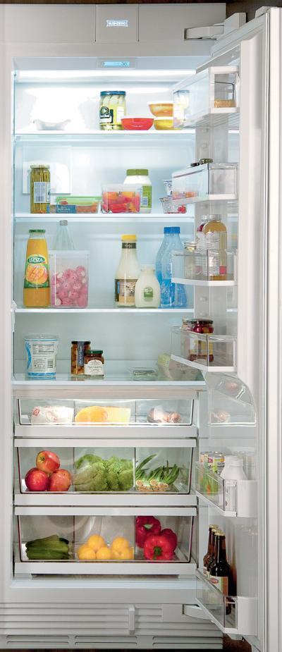 "30"" SUBZERO Integrated Column Refrigerator with Internal Dispenser - Panel Ready IC-30RID - IC-30RID-LH"