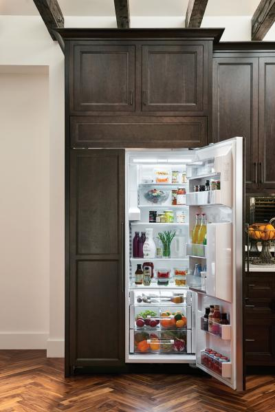 "42"" SUBZERO Built-In Side-by-Side Refrigerator/Freezer with Dispenser - Panel Ready - BI-42SD/O"