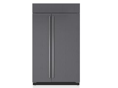 "48"" SUBZERO Built-In Side-by-Side Refrigerator/Freezer - Panel Ready - BI-48S/O"