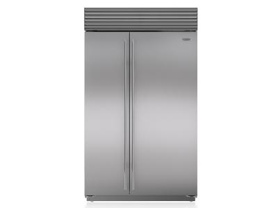 "48"" SUBZERO Built-In Side-by-Side Refrigerator/Freezer - BI-48S/S/TH"
