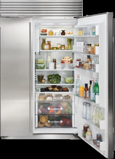 "48"" SUBZERO Built-In Side-by-Side Refrigerator/Freezer with Internal Dispenser - Panel Ready BI-48SID/O - BI-48SID/O"