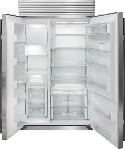"48"" SUBZERO  Built-In Side-by-Side Refrigerator/Freezer with Internal Dispenser - BI-48SID/S/PH"