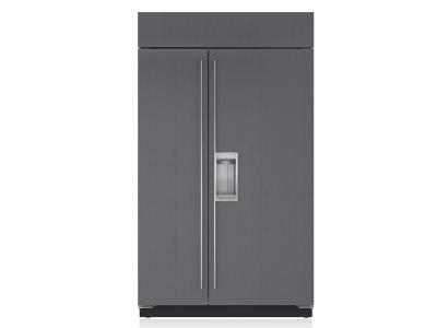 "48"" SUBZERO Built-In Side-by-Side Refrigerator/Freezer with Dispenser - Panel Ready - BI-48SD/O"