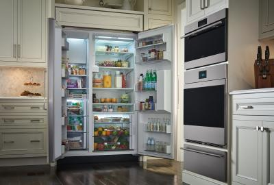 """48"""" SUBZERO Built-In Side-by-Side Refrigerator/Freezer with Dispenser - Panel Ready - BI-48SD/O"""