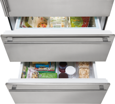 "36"" SUBZERO Integrated Over-and-Under Refrigerator Internal Dispenser - Panel Ready - IT-36RID-LH"