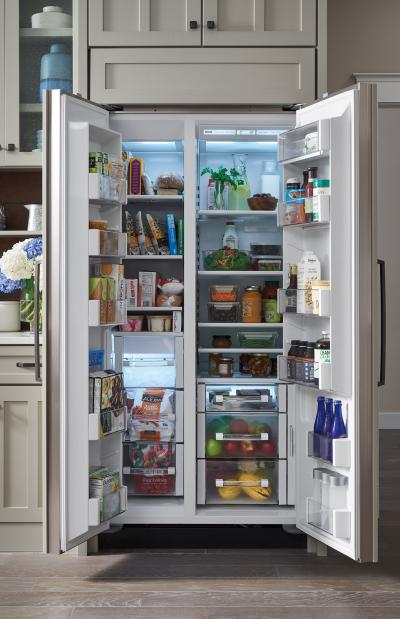 "SUBZERO 36"" Built-In Side-by-Side Refrigerator/Freezer - Panel Ready - BI-36S/O"