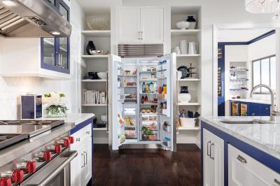 "36"" SUBZERO  Built-In Side-by-Side Refrigerator/Freezer - BI-36S/S/TH"