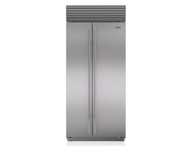 "36"" SUBZERO Built-In Side-by-Side Refrigerator/Freezer - BI-36S/S/PH"