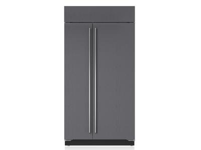 "42"" SUBZERO  Built-In Side-by-Side Refrigerator/Freezer - Panel Ready - BI-42S/O"