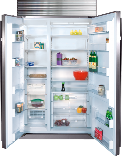"42"" SUBZERO Built-In Side-by-Side Refrigerator/Freezer - BI-42S/S/PH"