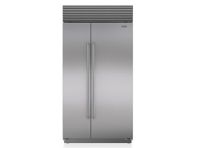 "42"" SUBZERO Built-In Side-by-Side Refrigerator/Freezer - BI-42S/S/PH"