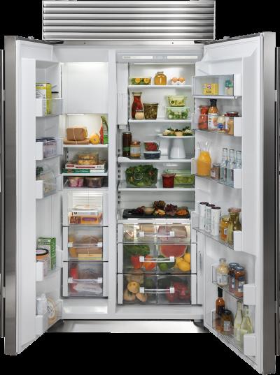 "42"" SUBZERO Built-In Side-by-Side Refrigerator/Freezer with Internal Dispenser - BI-42SID/S/TH"