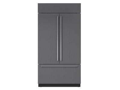 "42"" SUBZERO Built-In French Door Refrigerator/Freezer with Internal Dispenser - Panel Ready - BI-42UFDID/O"