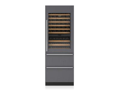 "30"" SUBZERO  Integrated Wine Storage with Refrigerator Drawers - Panel Ready - IW-30R-LH"