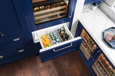 "30"" SUBZERO Integrated Wine Storage with Refrigerator/Freezer Drawers - Panel Ready -IW-30CI-LH"