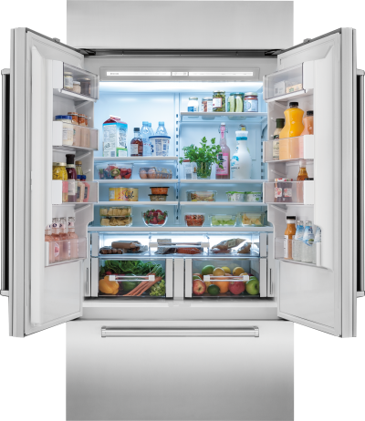 "42"" SUBZERO Built-In French Door Refrigerator/Freezer with Internal Dispenser - BI-42UFDID/S/TH"