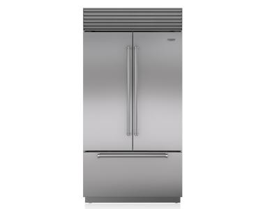 "42"" SUBZERO Built-In French Door Refrigerator/Freezer with Internal Dispenser - BI-42UFDID/S/PH"