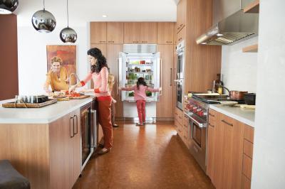 "36"" SUBZERO Built-In French Door Refrigerator/Freezer - Panel Ready - BI-36UFD/O"