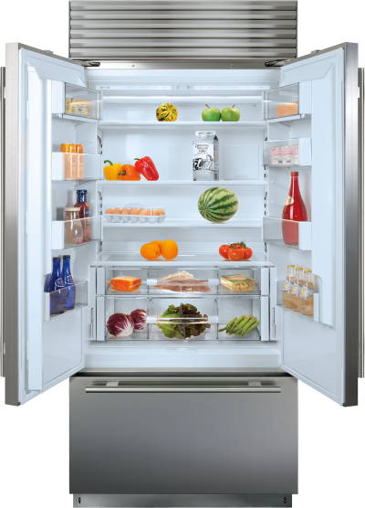 "36"" SUBZERO  Built-In French Door Refrigerator/Freezer - BI-36UFD/S/PH"