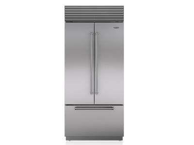 "36"" SUBZERO  Built-In French Door Refrigerator/Freezer - BI-36UFD/S/PH"