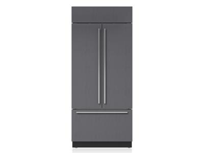 "36"" SUBZERO Built-In French Door Refrigerator/Freezer with Internal Dispenser - Panel Ready - BI-36UFDID/O"