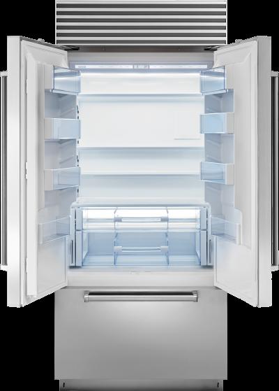 "36"" SUBZERO Built-In French Door Refrigerator/Freezer with Internal Dispenser - Panel Ready - BI-36UFDID/O"