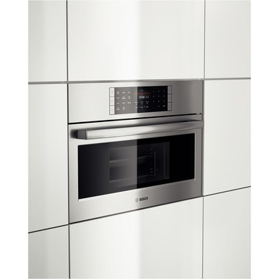 "30"" Bosch Steam Convection Oven Benchmark  Series - Stainless Steel HSLP451UC"