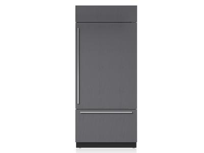 "36"" Subzero Built-in Bottom-Freezer Refrigerator - BI-36U/O-LH"