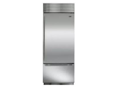"30"" SUBZERO Built-In Over-and-Under Refrigerator/Freezer -  BI-30U/S/TH-RH"