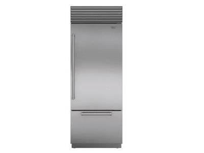 "30"" SUBZERO Built-In Over-and-Under Refrigerator/Freezer - BI-30U/S/PH-RH"