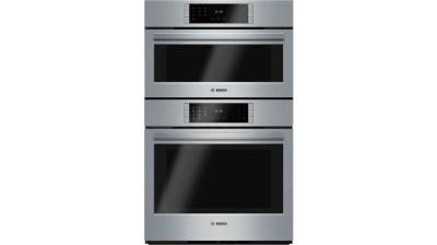 "30"" Bosch Steam Convection Combination Oven Stainless Steel - HSLP751UC"