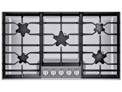 "36"" Thermador Masterpiece Pedestal Star Burner Gas Cooktop - SGSP365TS"