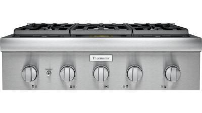"30"" Thermador Professional Series Rangetop - PCG305W"