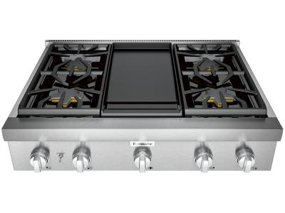 "36"" Thermador Professional Series Rangetop - PCG364WD"